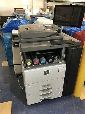 Sharp MX-6500N Color Production Copier - Brand New Out Of Box