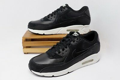 Nike Air Max 90 Ultra 2.0 LTR Leather Black Summit White 924447-001 Men s  NEW 944dc085a