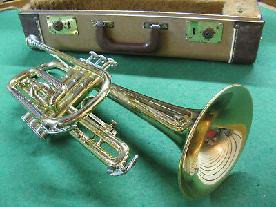 Yamaha YCR-231 Cornet - 1970's - Reconditioned - Excellent Case and Bach 7C