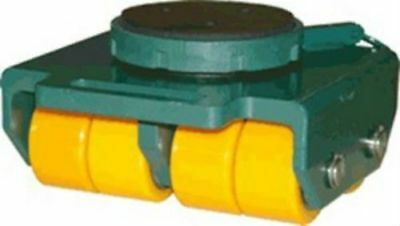 Hilman Rollers BSP-3P, Swivel Padded Top & Polyurethane Wheel Dolly, 3 Ton Cap.