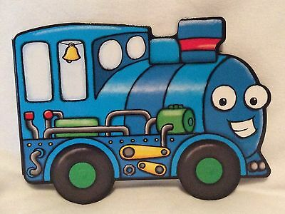 Train - Children's Board Book - Brand New