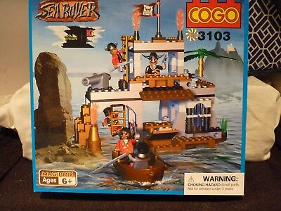 Sea Rover Cogo building set for ages 6 yrs Get in time for Christmas # 3112