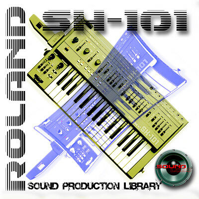 Roland SH101 - The Very Best Original Welle / Kontakt Proben Bibliothek auf DVD