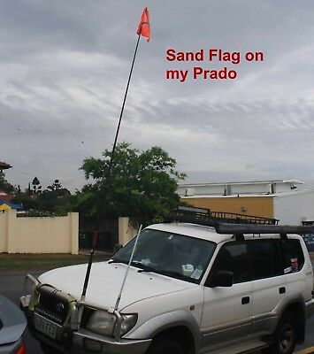 Sand Flag 270cms high, fittings supplied