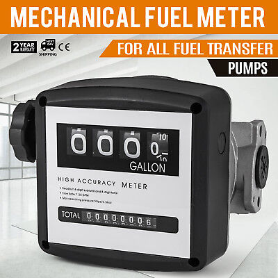 """1"""" Mechanical Fuel Meter for All  Fuel Transfer Pumps FM-120-5 5-30 GPM Digit"""
