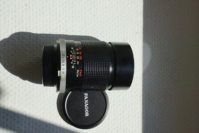 Objectif Panagor 135mm F2,8 PMC Auto Tele Monture MD Sony Alpha Nikon Canon