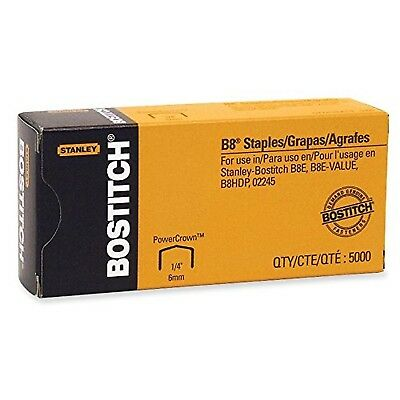 B-8 Staples - Stanley Bostitch(25 Boxes-5000/box)125000