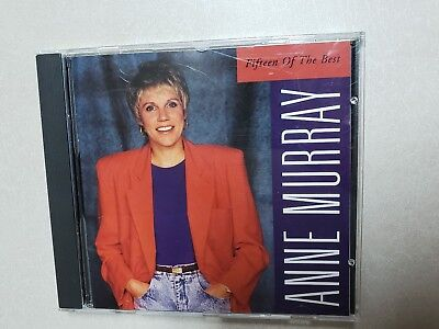 FIFTEEN OF THE Best by Anne Murray (CD, 1992 Liberty Records) - EUR ...