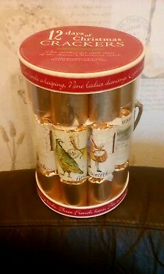 Robin Reed 12 Days Of Christmas Crackers Joke Trivia Charades Game New Boxed