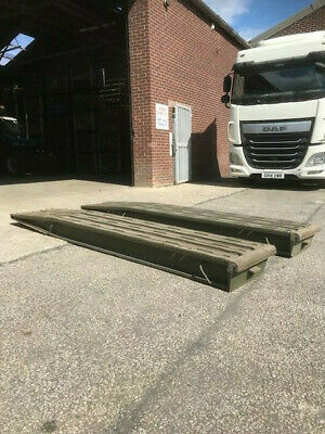 Aluminium Ramps Heavy Duty, Low Loader Ramps, ex Army