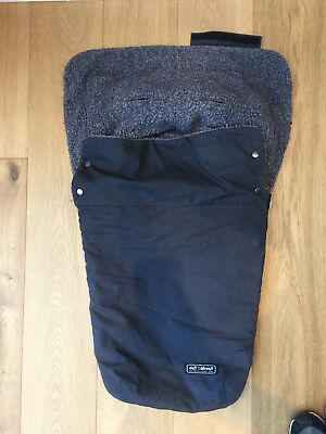 Out n About Nipper footmuff black grey - good used