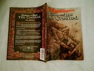 Children Of The Night The Created Ravenloft  Advanced Dungeons & Dragons Ad&d
