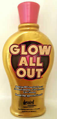 DEVOTED CREATIONS GLOW ALL OUT Dark Tanning Lotion Bronzer - 12.25 oz.