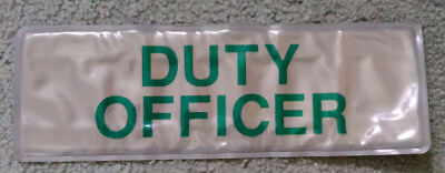 Duty Officer Reflective Badge