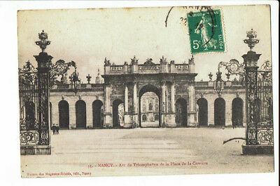 CPA-Carte postale France -Nancy - Arc de Triomphe --1913 - S 2571