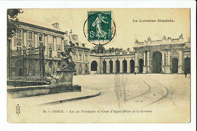 CPA-Carte postale France -Nancy - Place de la Carrière-1908- S 2572