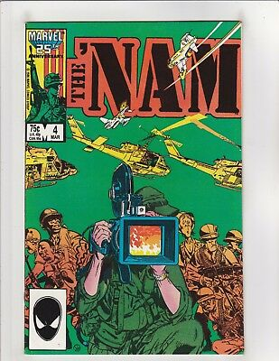 The 'Nam #4 VF/NM 9.0 Marvel Comics Vietnam,Michael Golden