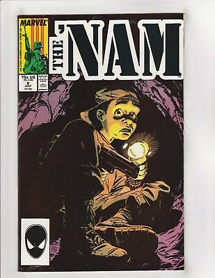 The 'Nam #8 NM- 9.2 Marvel Comics Vietnam,Michael Golden