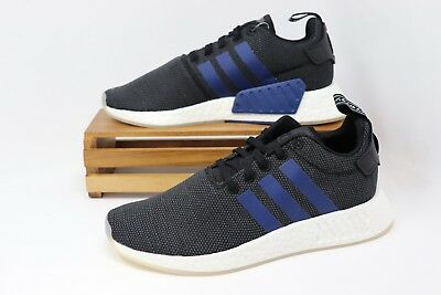 00491ffd73068b Adidas NMD R2 W Women s Running Shoes Core Black Noble Indigo CQ2008 NEW