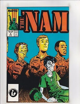 The 'Nam #9 NM- 9.2 Marvel Comics Vietnam,Michael Golden