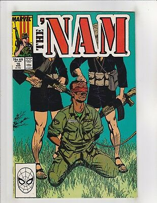 The 'Nam #16 VF/NM 9.0 Marvel Comics Vietnam War