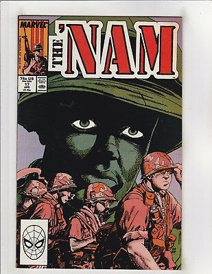 The 'Nam #17 VF/NM 9.0 Marvel Comics Vietnam War