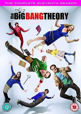 BIG BANG THEORY Stagione 11 Completa DVD in Inglese/Francese/Spagnolo Nuovo
