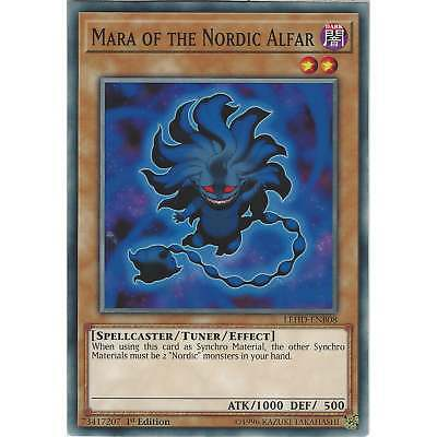 Yu-Gi-Oh Mara of the Nordic Alfar - LEHD-ENB08 - Common Card - 1st Edition