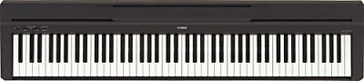 Yamaha P-45B Digital Piano schwarz (Piano)