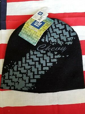 Chevrolet Chevy GM GMC Truck Beanie Stocking hat skull cap logo head gear ski