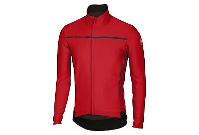 Castelli  Giacca  Perfetto Long Sleeve Red