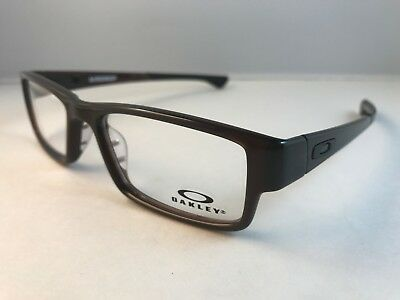 New Authentic Oakley Eyeglasses OX 8046 0653 Airdrop Root Beer w pouch