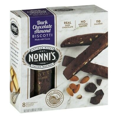 Nonni's Food Company Decadence Biscotti Cookie 6.88oz (PACK OF 12)