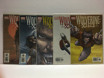 Wolverine: Xisle #1-5 (VF/NM) Complete Mini Series 2003 Marvel Comics 1,2,3,4,5