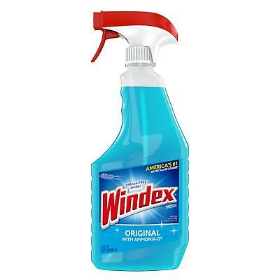 a9951048aa4d Windex Trigger Bottle Original Blue Glass Cleaner 23fl.oz (PACK OF 12)