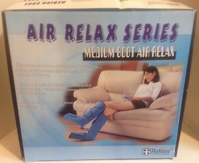 Reliver Medium Boot Air Relax Series Massager #99004 Foot, Ankle, & Calf Muscles