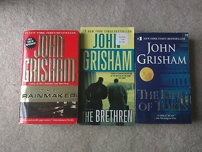 John Grisham Lot Of 3 Books