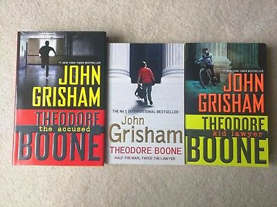 John Grisham Theodore Boone Lot Of 3 Books