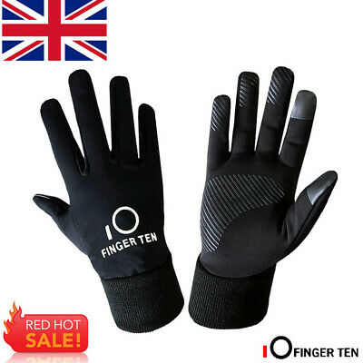 Boys Winter Gloves Kids Waterproof Warm Outdoor Cycling Touchscreen 3M Fleece UK