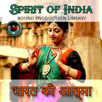 India.spirit Of India - Großer Mehrlagiger Wav / Kontakt Produktions Library On
