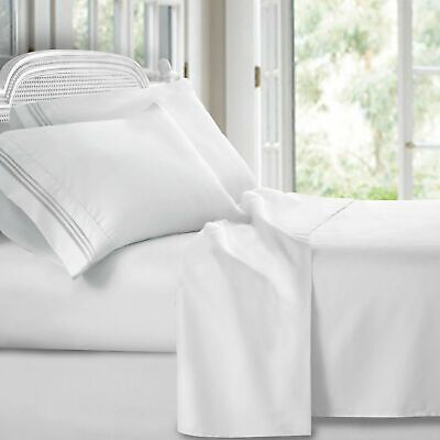 Persian Collection 1800 Count Sheet set Fitted Flat 16 Deep Pocket Wrinkle Free