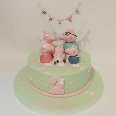 Peppa Pig Family Cake decoration Cake toppers