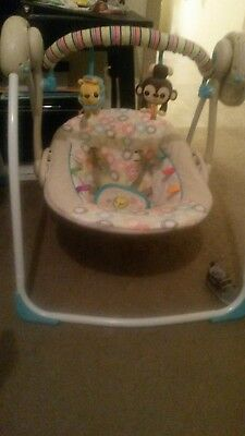 Bright Starts used electric baby swing