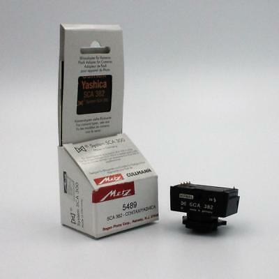Metz SCA 382 Flash Adapter For Contax TTL With Box & Instructions
