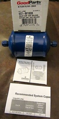 Goodparts Emerson Bi-Flow Kleaner Bi-Directional Filter Drier Ect-Bf163S New