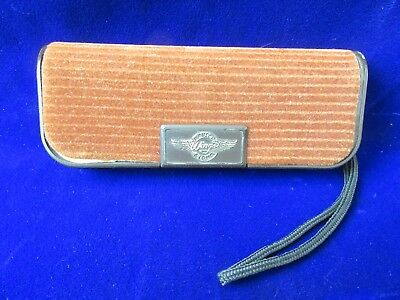 VINTAGE AUTHENTIC RAY-BAN B&L Bausch & Lomb WINGS SUNGLASSES CASE MADE IN USA