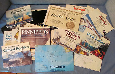 32 National Geographic Magazine MAPS Supplements 1980 - 2004