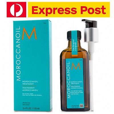 Moroccanoil Moroccan Oil Original Treatment 100ml w Pump - FREE EXPRESS POST!