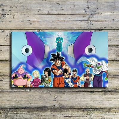 "12""x22""Dragon Ball Cartoon HD Canvas prints Painting Home Decor Picture Wall art"