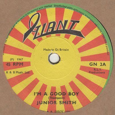 Junior Smith I'm A Good Boy  Giant GN2 Soul Northern Motown